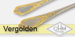 CHM Solingen - Leistungen - Vergolden