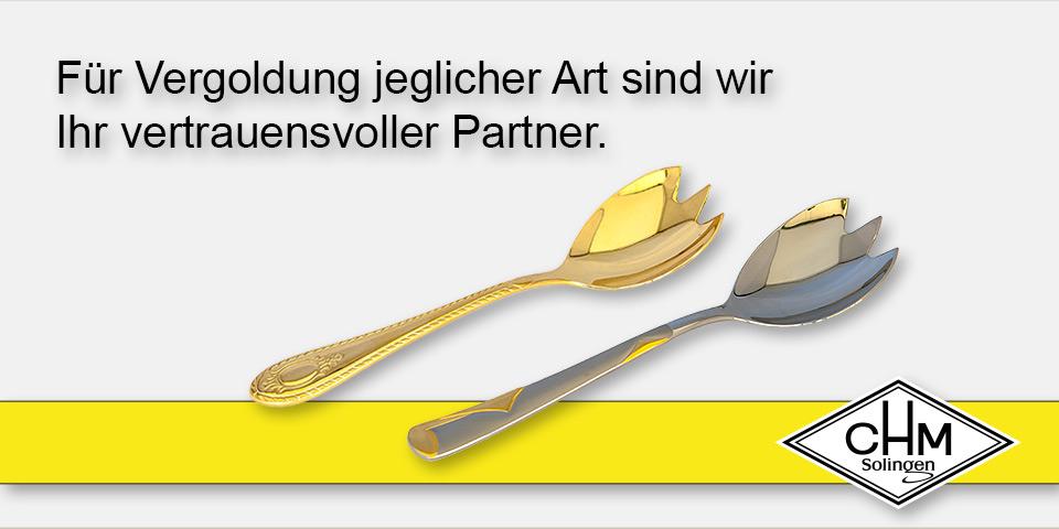 CHM Solingen - Für Vergoldung jeglicher Art sind wir Ihr vertrauensvoller Partner.